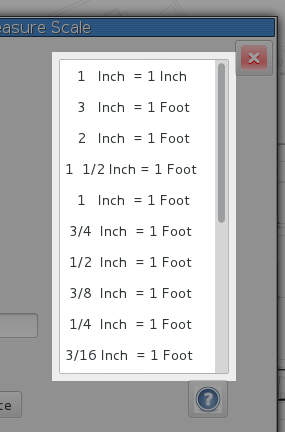 how to use metric scale